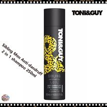 ヘアケア TONI&GUY☆Sibling Men Anti-dandruff 2 in 1 shampoo フケ予防