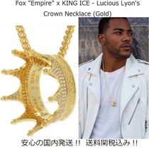 "【Fox ""Empire"" x King Ice】Lucious Lyon's Crownネックレス"