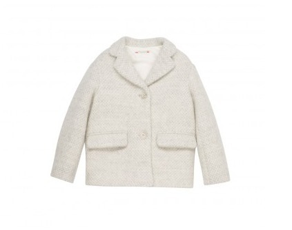 17AW【Bonpoint】Flore コート 3~4A (gris)