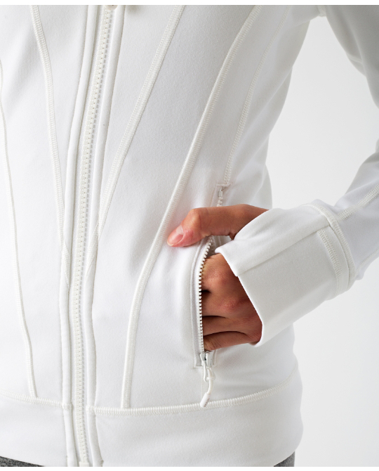 【 Perfect Your Practice Jacket 】★ white