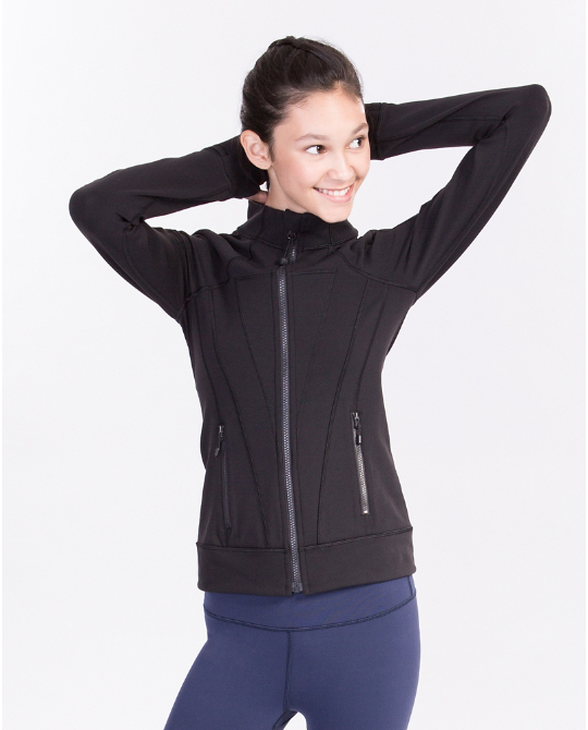 【 Perfect Your Practice Jacket 】★ black