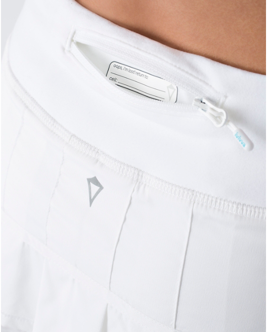 【 Set The Pace Skirt 】★ white