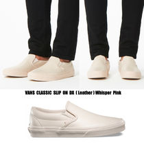 VANS★CLASSIC SLIP ON DX★レザー★25.5~28cm★Whisper Pink