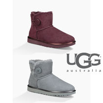 UGG Australia   MINI BAILEY BUTTONⅡ メタリック