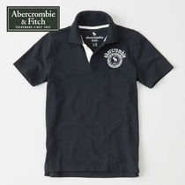 Abercrombie & Fitch アバクロ キッズポロシャツ crest polo