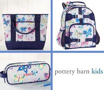 Pottery Barn Kids★お得な3点セット<Gray Rainbow Butterfly>