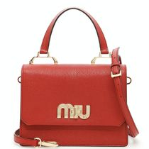MM329 LOGO EMBELLISHED MADRAS HANDBAG