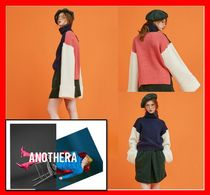 ANOTHER A(アナザーエー) ニット・セーター 韓国の人気【ANOTHER A】wide sleeve turtleneck knit top