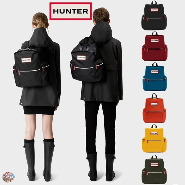 HUNTER☆Original Top Clip Backpack ナイロン リュック 6色