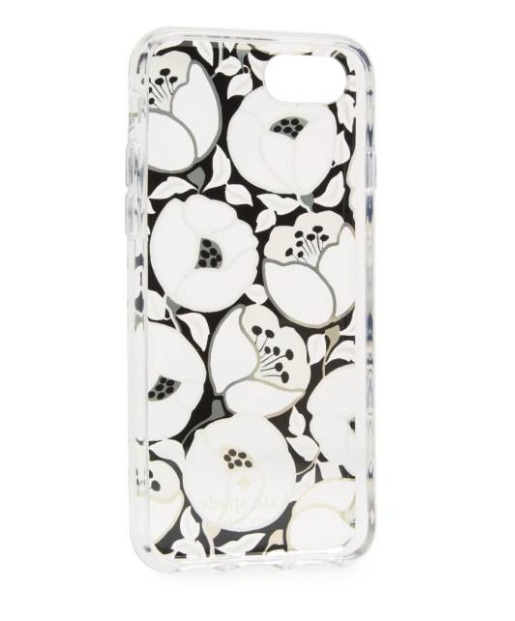 【国内発送】kate spade★新作!Paris Poppy iPhone7 Case