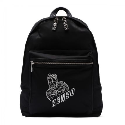 KENZO EMBROIDERED LOGO バックパック【関税・送料込】