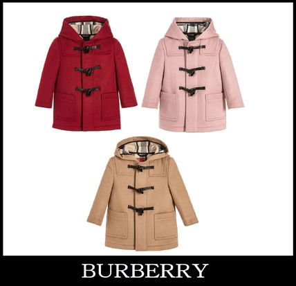 17-18AW 【BURBERRY】3色展開 ダッフルコート ベビー