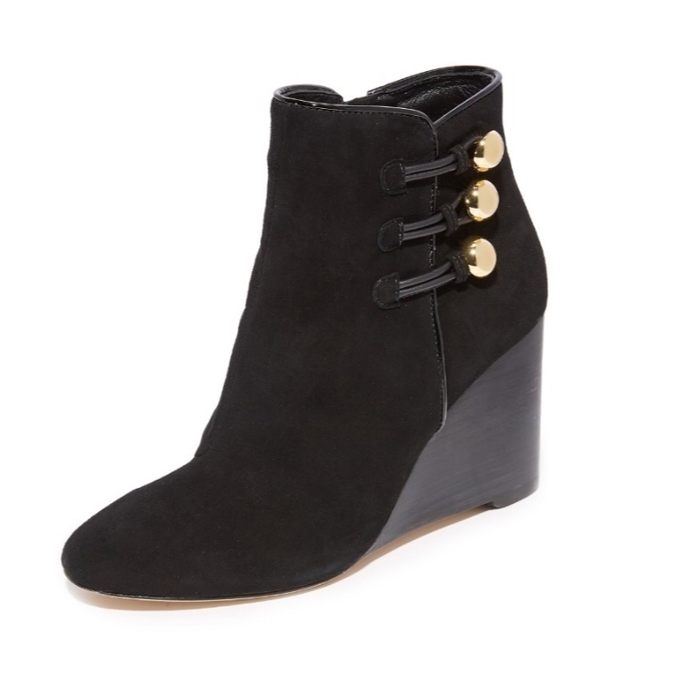 kate spade☆Geraldine Wedge Booties ブラック☆ブーティ