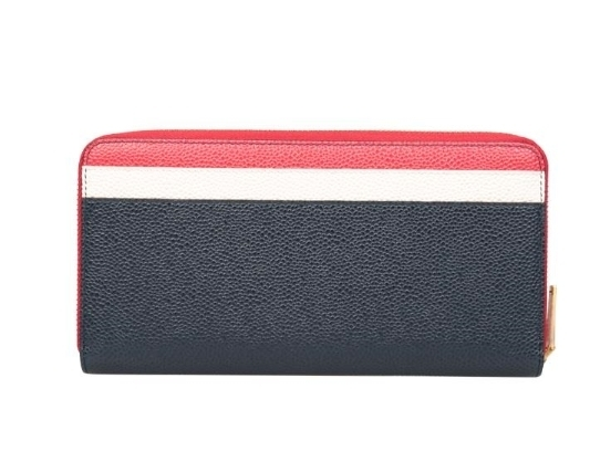 THOM BROWNE正規品★Leather tricolor wallet