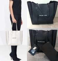 17AW【BALENCIAGA】Everyday Tote S ホワイトロゴが印象的unisex