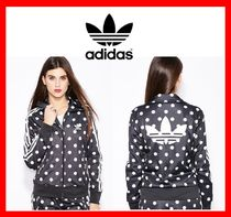 【ADIDAS】 Woman's originals DOT AOP FB TRACK TOP AB2267