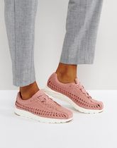 Nike Mayfly Woven Trainers In Pink