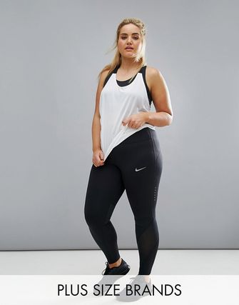 Nike Plus Running Power Epic Lux Tight In Black