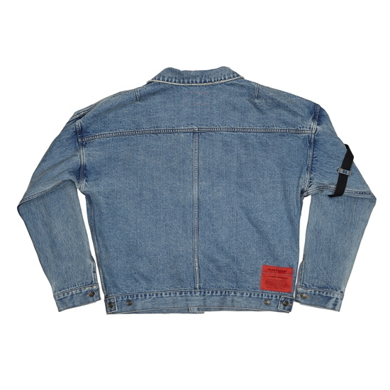 OVERR正規品★ESSAY.2 BELT WASHING DENIM JACKET