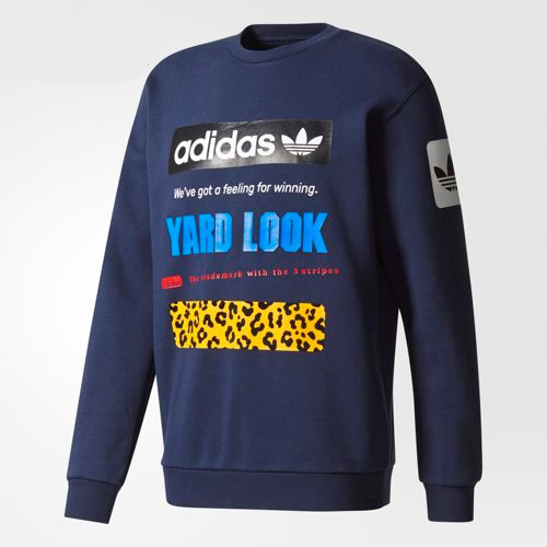 Adidas◆Unisex Originals◆Street Graphic Crew◆日本未入荷