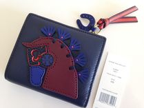 TORY BURCH HORSE MINI  WALLET セール 国内発送