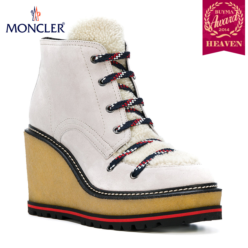 TOPセラー賞受賞!17/18秋冬┃MONCLER★LACE UP BOOTS_ヌード