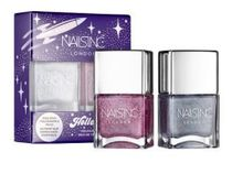 Nails Inc☆限定(Holler-Graphic Holographic Nail Polish Duo)
