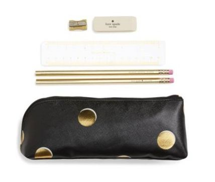 ☆Kate Spade☆ドットペンケースセット