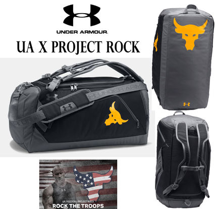 海外限定★UNDER ARMOUR UA x Project Rock 2WAY バックパック