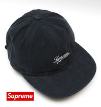 Supreme Brushed Twill Script 6-Panel Cap シュプリーム 送込