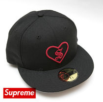 17AW Supreme Hearty New Era Cap Box Logo ニューエラ コラボ