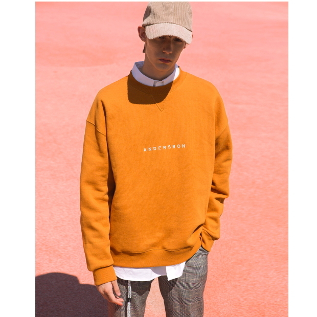 ANDERSSON BELL正規品★シグニチャーロゴ刺繍スウェット★UNISEX