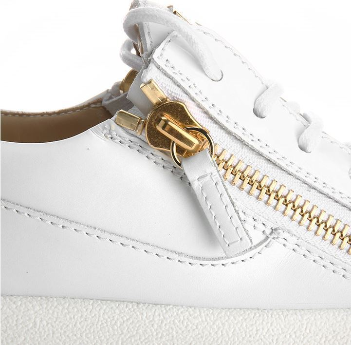【関税負担】 GIUSEPPE ZANOTTI LACE-UP  ZIPPER SNEAKERS