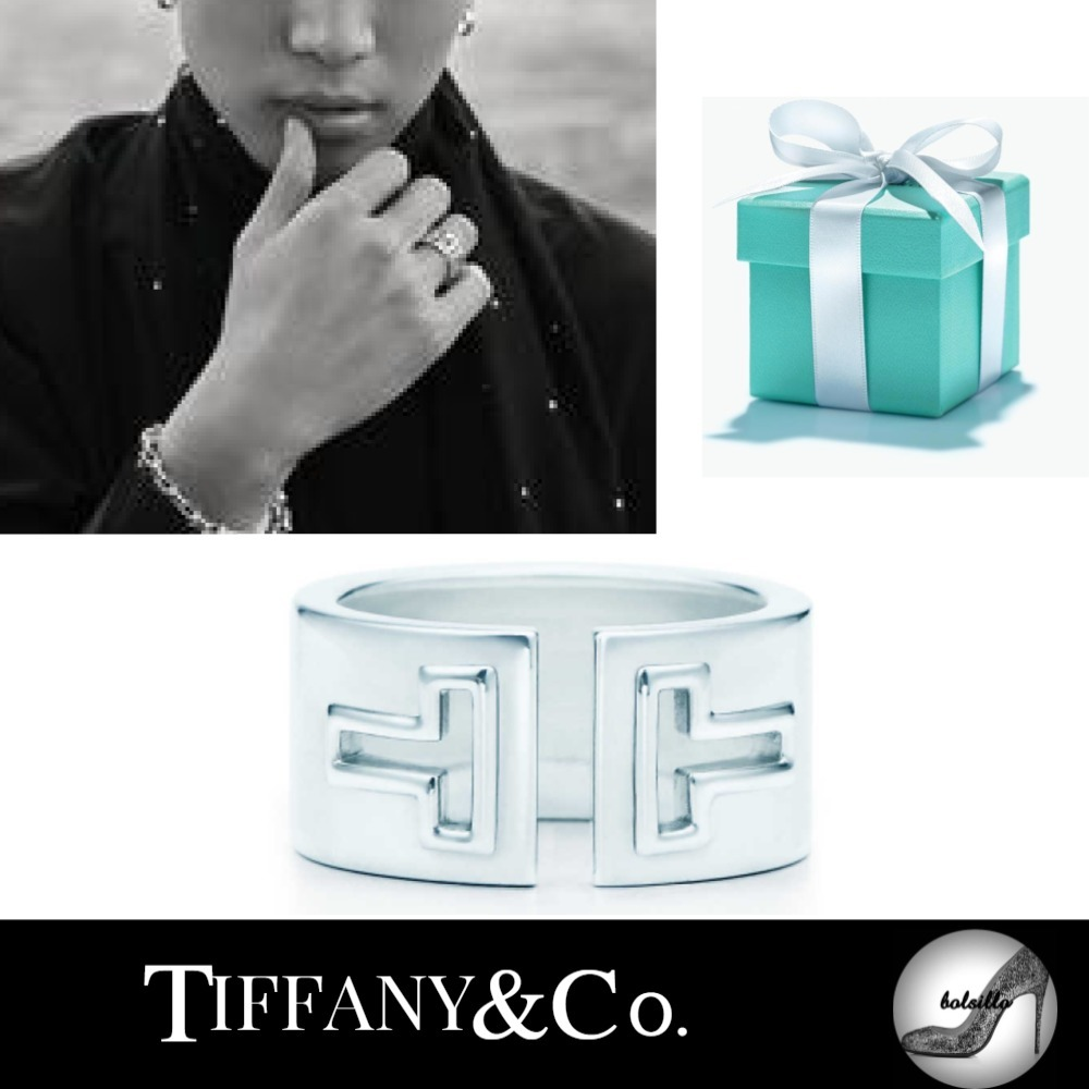【Tiffany & Co】 TIFFANY T CUTOUT RING 三代目JSB岩田さん愛用