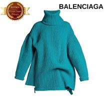 BALENCIAGA バレンシアガ Long-sleeved roll-neck sweater