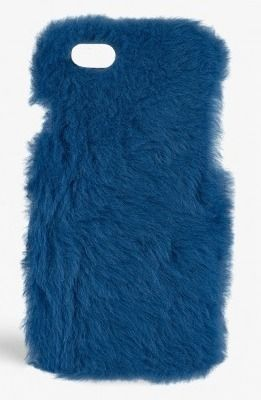 THE CASE FACTORY スマホケース・テックアクセサリー THE CASE FACTORY★IPHONE 7 FUR PRINCESS BLUE(2)