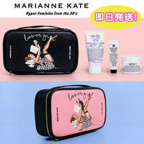 Marianne kate(マリアンケイト) メイクポーチ 【正規品・送料込】Marianne kate☆LuckyDog Lovergirl Pouch(L)