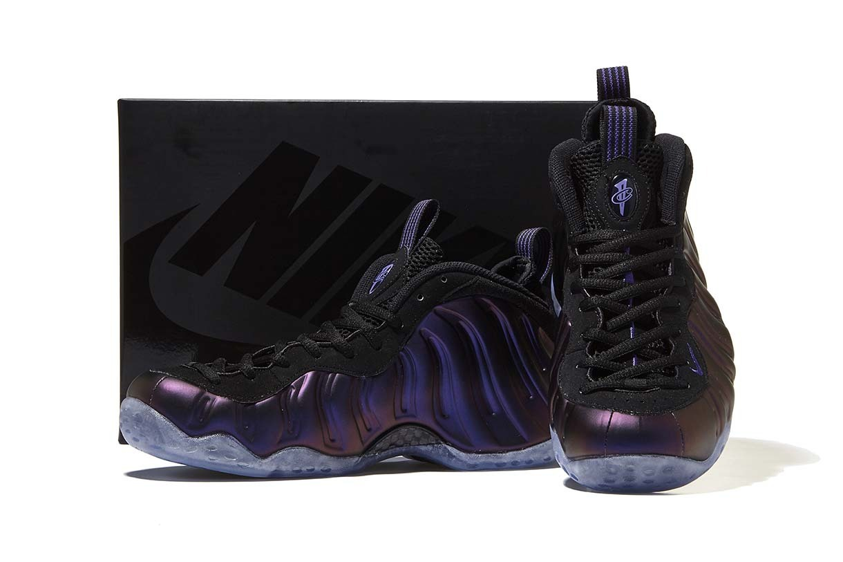 Nike Air Foamposite One PUR/BLK Eggplant エッグ ナイキ