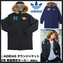 ADIDAS ORIGINALS バッジ ダウンジャケットBADGE DOWN JK Unisex