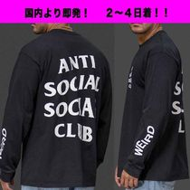国内即発 2~5日着 ANTI SOCIAL SOCIAL CLUB  GET WIRED L/S TEE