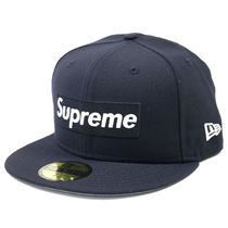 国内発送 ネイビー 7 1 2 Supreme R.I.P Box Logo New Era Cap bd55148cb0e0