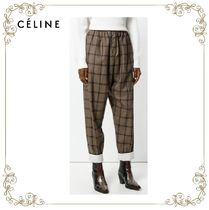 【17AW】大人気★CELINE★checked trousers