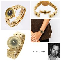 【送料無料】Dotty Gold-to-black Gradient Quratz Ladies Watch