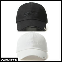 【VIBRATE バイブレート】TWIN RING BRUSH LETTERING BALL CAP