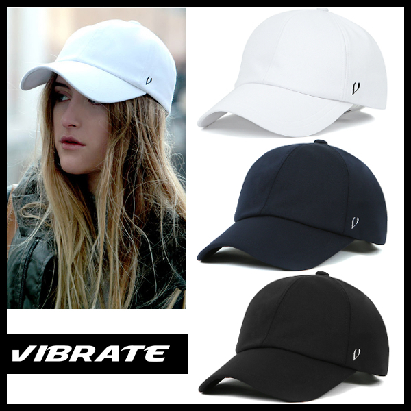 【VIBRATE バイブレート】BASIC ATHLEISURE BALL CAP 3色