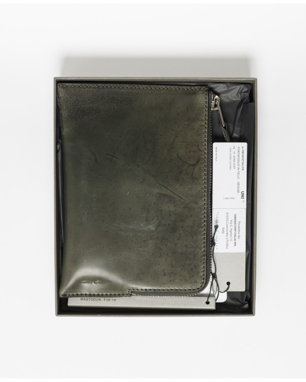 【関税込】RICK OWENS MEDIUM ZIPPED WALLET