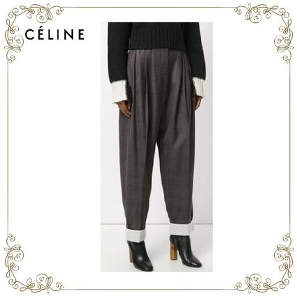 【17AW】大人気★CELINE★loose fit trousers