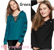 【Victoria's Secret】SLOUCHY LACE-UP PULLOVER プルオーバー
