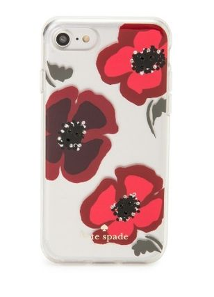 【国内発送】kate spade★新作!Jeweled Poppy iPhone7 Case