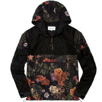 REASON Hana Floral Wind Breaker S~L Fedex対応